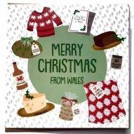 Welsh christmas card