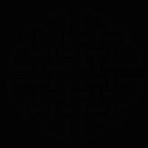 Celtic dara knot symbol