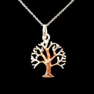 Celtic Welsh tree of life necklace