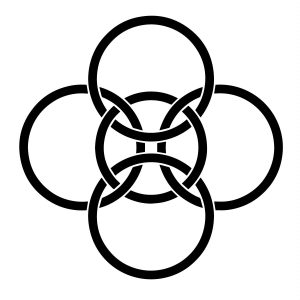 Celtic five-fold symbol