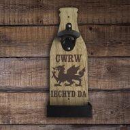 welsh beer bottle opener welsh gifts for him