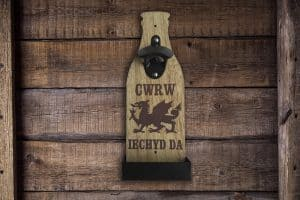 welsh beer bottle opener welsh gifts for him