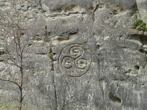 welsh celtic symbols triskelion