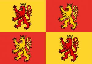 Owain Glyndwr flag national symbol of Wales
