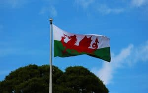 Welsh dragon as a Welsh national symbol