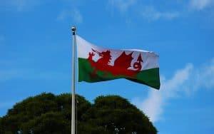 Welsh dragon as a Welsh national symbol