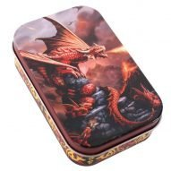 Red Dragon storage tin