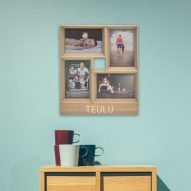 teulu photo frame