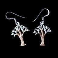 Welsh Celtic tree of life earrings