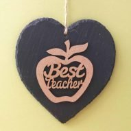 WELSH TEACHER GIFTS APPLE