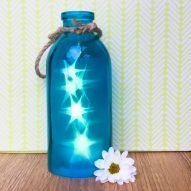 stars in a bottle blue