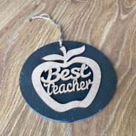 best teacher slate apple gift