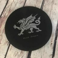 welsh dragon slate trivet