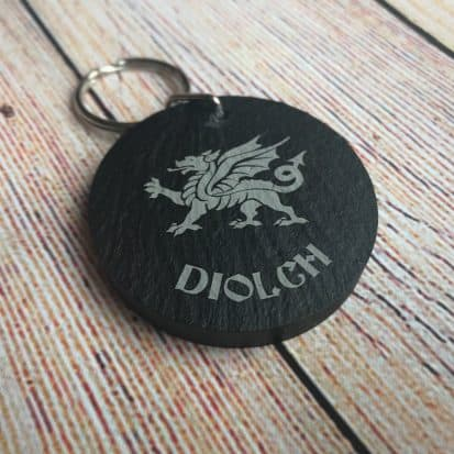 Welsh diolch gifts