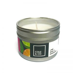 Lime basil and mandarin candle welsh handmade candles