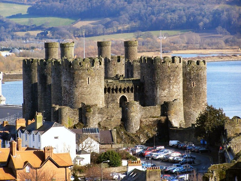 Welsh castles facts Conwy castle