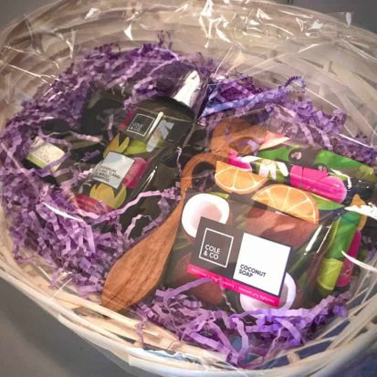 Welsh hamper close up