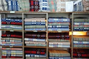 Welsh crafts - tapestry blankets