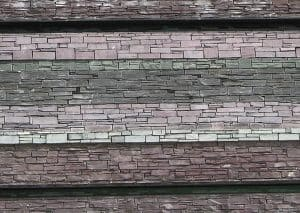 Welsh crafts slate in architecture